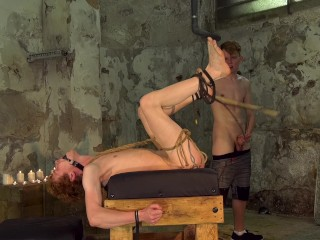 bondage fetish gay rough sex twink