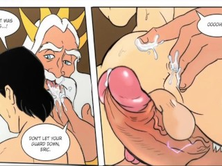 big cock comic daddy dick euro european