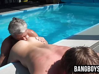 bang big blowjob boys cock couple cum