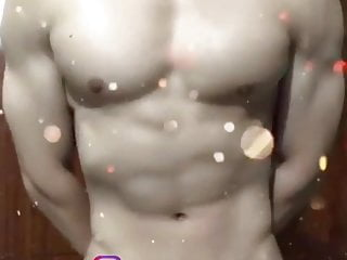 asian gay hot hunk muscle play show
